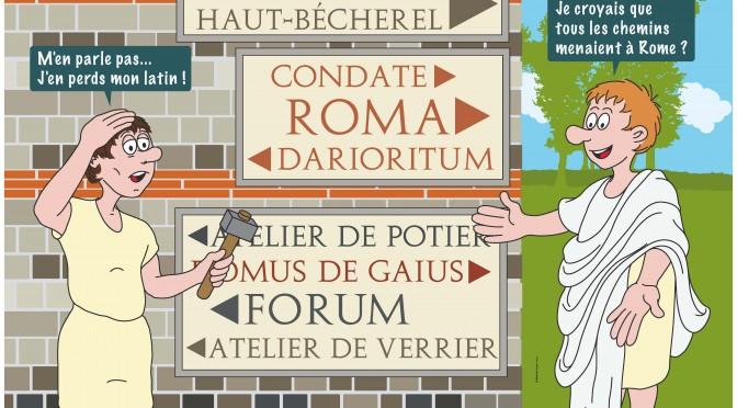 Actualités : exposition «Corseul antique. De la ville à la campagne. De l'artisan au notable. Apports des dernières fouilles archéologiques»