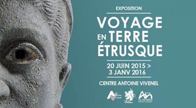 Actualités : prolongation de l'exposition «Voyage en Terre Étrusque»