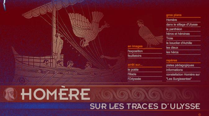 Actualités : exposition virtuelle de la Bnf «Homère, sur les traces d'Ulysse»