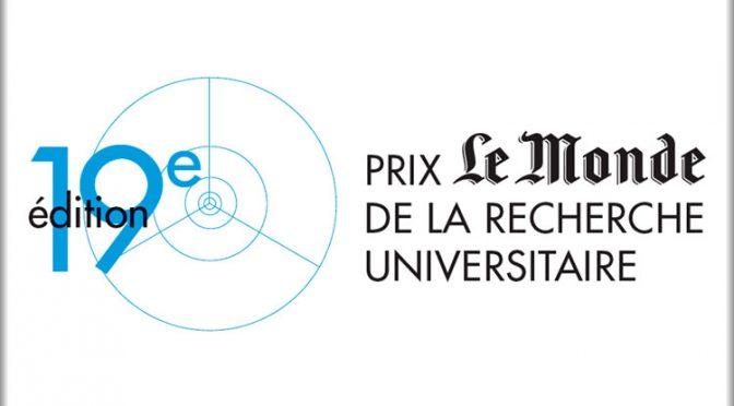 Du côté du doctorat : prix «Le Monde de la recherche»