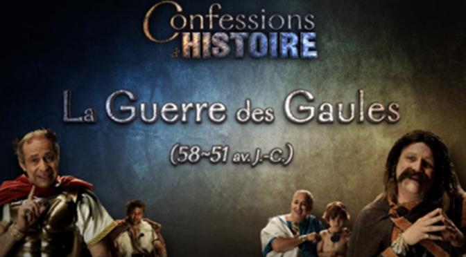 Valorisation : à propos de la vidéo « Confessions d'histoire. La Guerre des Gaules ». Entretien avec Michel Reddé