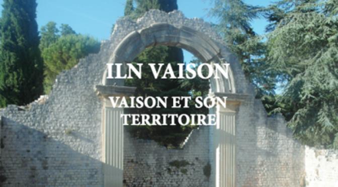 Actualités : séminaire «Inscriptions latines de Narbonnaise ILN Vaison des Voconces. Archéologie et épigraphie»