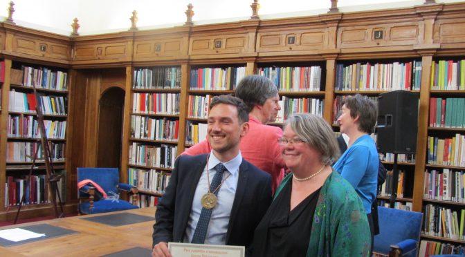 Recherches : Prix Européen d'Archéologie Joseph Déchelette 2016. Entretien avec Eneko Hiriart