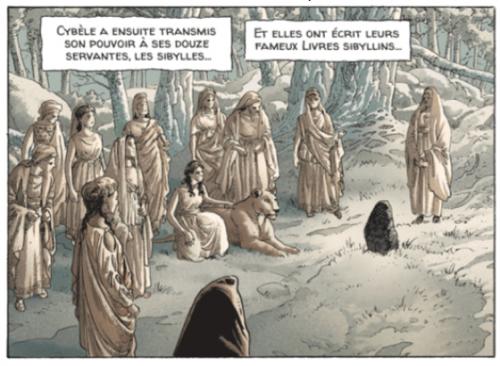 Le Hurlement de Cybèle, Démarez, Mangin et Martin, Casterman, 2016, p. 11, case 5