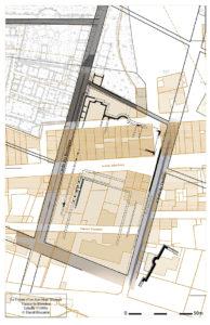 Fig. 5. Plan du forum de Vaison-la-Romaine (cartographie : D. Biscarrat ; plan : J.-M. Mignon)