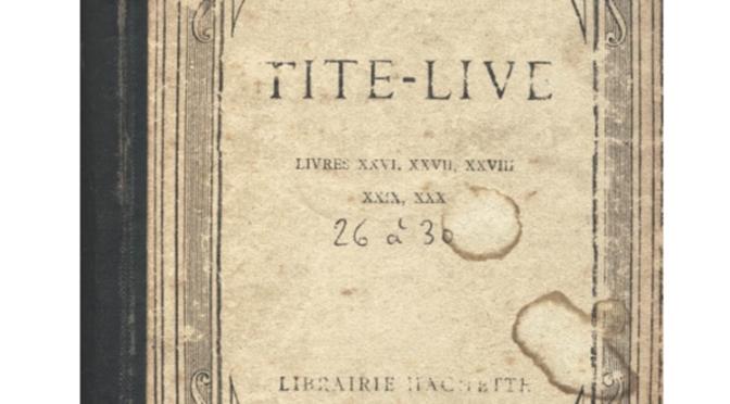 Relire Tite-Live, 2000 ans après