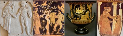 Fig. 3 : L'art antique comme source iconographique pour la bande dessinée Médée