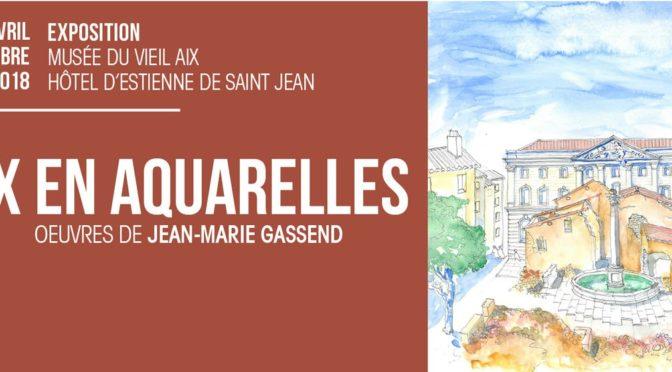 Exposition «Aix en aquarelles»