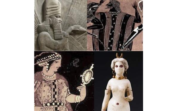 Divines parures du Proche-Orient au monde méditerranéen dans l'Antiquité