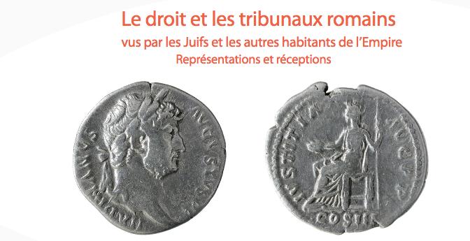 Le droit et les tribunaux romains