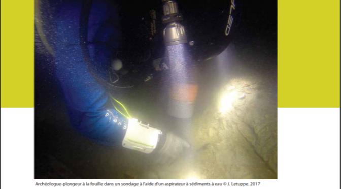 Les épaves romaines de Courbiac : fouilles archéologiques subaquatiques dans le fleuve Charente